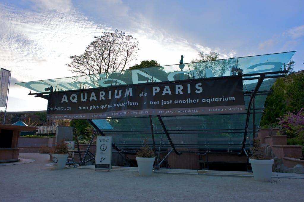 aquarium de paris trocadero cineaqua entrée