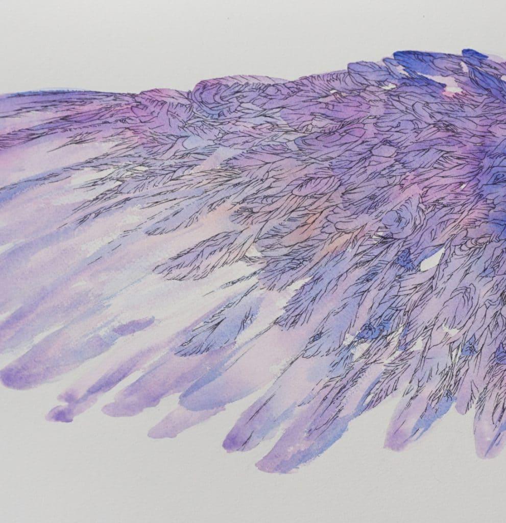 loiseau-bleu-aile-gauche-art-by-Nephilim K