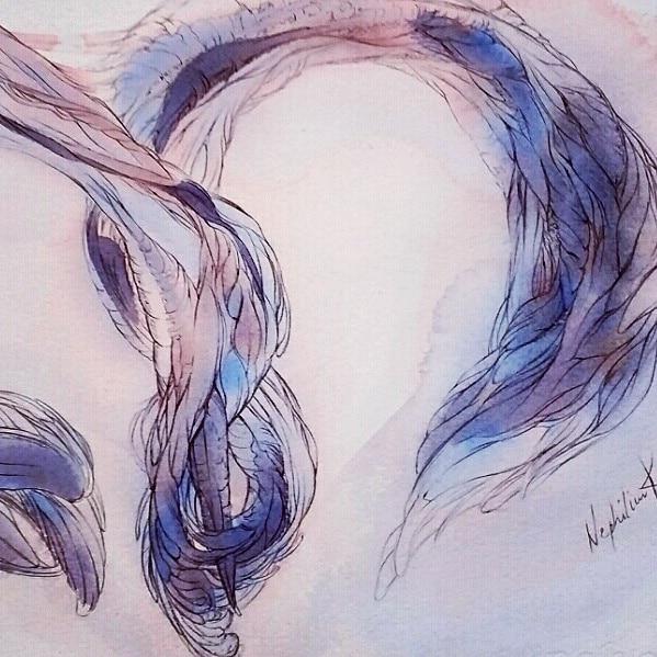 art by nephilimk - 3 - trois - les chiffres sensibles- contemporary art - albert camus l'été - noces