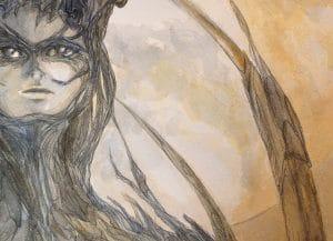 En-mal-d'aurore-détail-3--de-la-peinture-cf-Lautréamont-Les-chants-de-Maldoror--art-by-nephilimk,