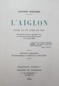 l'aiglon d'edmond rostand page 3 edition du panthéon
