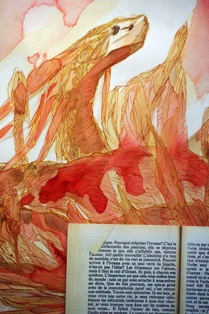 prince S sixtine - art by nephilimk - roman de la vie cérébrale remy de gourmont