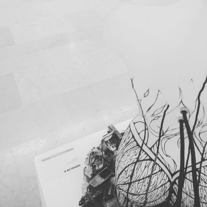 Eve future - installation de Marie-Catherine Arrighi dans salon de Montrouge - artiste corse