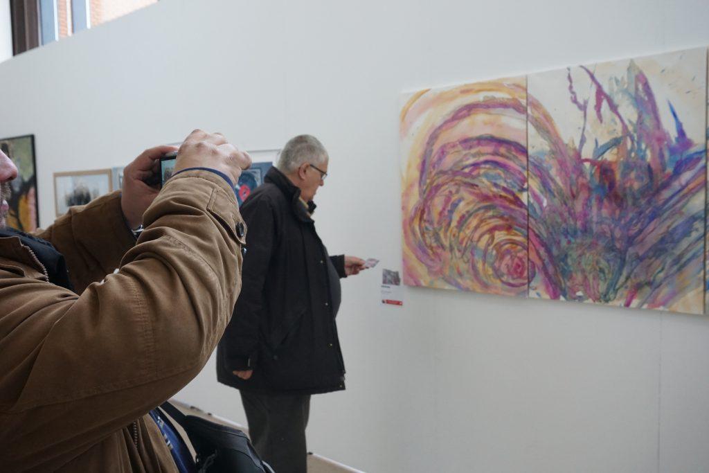 exposition salon dessin peint de nephilimk mc arrighi montrouge