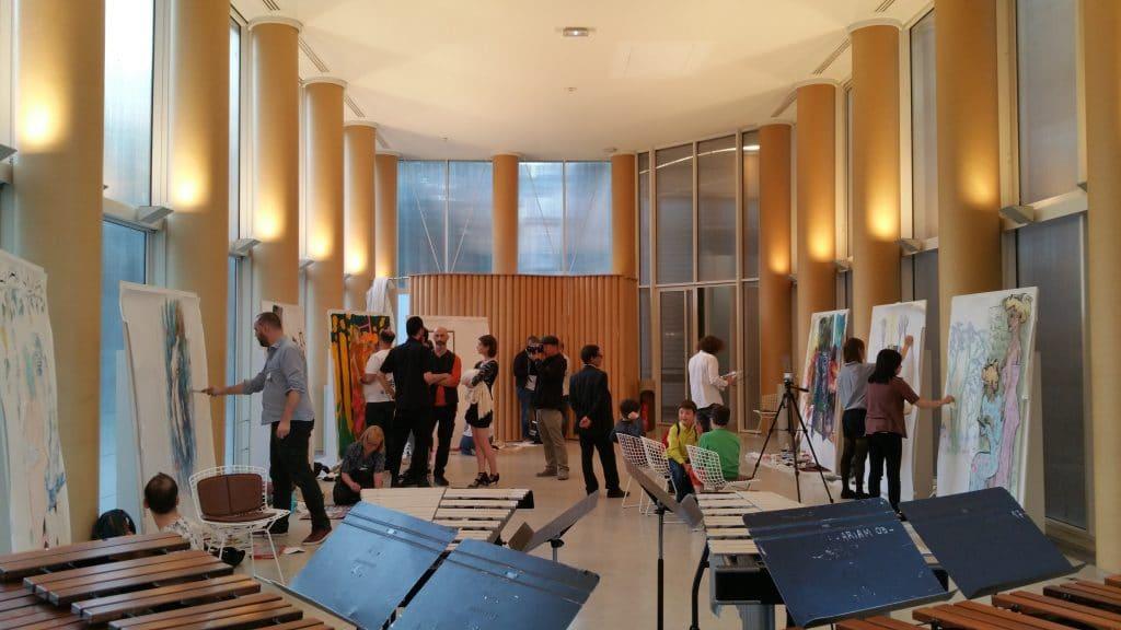 Grande salle du Musée du Luxembourg - Les soirées dessinées