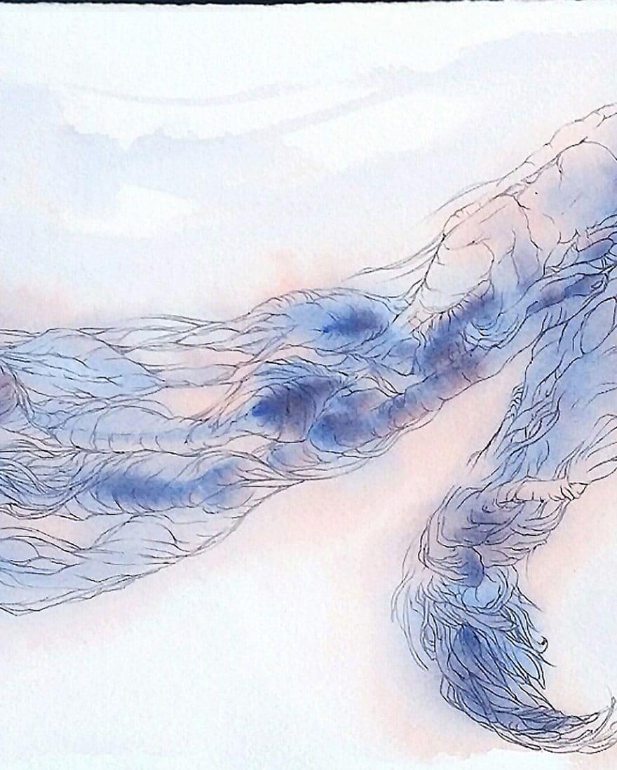 Chiffre-1-mc-arrighi-dessin-contemporain-illustration-le-mythe-de-sisyphe-d'albert-camus