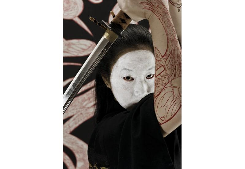 geisha tattoo dessin tattouage desing drawing